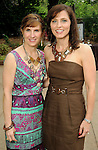 Chairs Sheila Hulme and Cristina Buaas at the Zoo Friends of Houston's 22nd Zoo Ball Friday April 30,2010.  (Dave Rossman Photo)