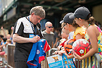 Peter Beardsley sign autographs during the HKFC Citi Soccer Sevens on 22 May 2016 in the Hong Kong Footbal Club, Hong Kong, China. Photo by Li Man Yuen / Power Sport Images