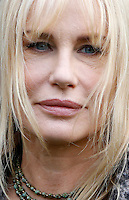 """L'attrice statunitense Daryl Hannah posa durante un photocall in occasione dell'inizio delle riprese del film """"Sights of Death"""" a Roma, 23 gennaio 2014.<br /> U.S. actress Daryl Hannah poses during a photocall on the occasion of the start of the shooting of the movie """"Sights of Death"""" in Rome, 23 January 2014.<br /> UPDATE IMAGES PRESS/Riccardo De Luca"""