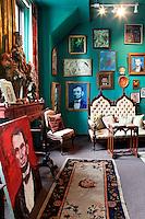 luxury art deco living room