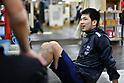Boxing: Ryota Murata works out at Teiken Boxing Gym