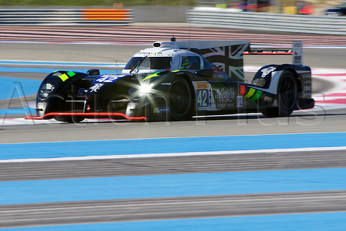 28.03.2015.  Le Castellet, France. World Endurance Championship Prologue Day 2. Strakka Racing Morgan Evo SARD driven by Nick Leventis, Danny Watts and Jonny Kane.