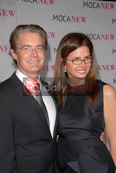 Kyle MacLaughlin and wife<br />