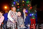 Enjoying  the Listowel Xmas lights on Sunday were Nuala O'Neill, Caroline O'Neil and Amy Harrington