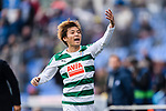 Takashi Inui of SD Eibar gestures during the La Liga 2017-18 match between Getafe CF and SD Eibar at Coliseum Alfonso Perez Stadium on 09 December 2017 in Getafe, Spain. Photo by Diego Souto / Power Sport Images