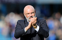 Fleetwood Town manager Uwe Rosler celebrates at the end of the game<br /> <br /> Photographer Rob Newell/CameraSport<br /> <br /> The EFL Sky Bet League One - Gillingham v Fleetwood Town - Saturday 22nd April 2017 - MEMS Priestfield Stadium - Gillingham<br /> <br /> World Copyright &copy; 2017 CameraSport. All rights reserved. 43 Linden Ave. Countesthorpe. Leicester. England. LE8 5PG - Tel: +44 (0) 116 277 4147 - admin@camerasport.com - www.camerasport.com