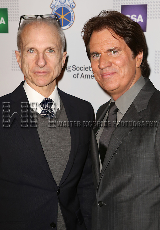 John DeLuca and Rob Marshall attends the 30th Annual Artios Awards at 42 WEST on January 22, 2015 in New York City.