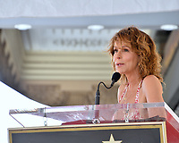 LOS ANGELES, CA. July 24, 2019: Jennifer Grey at the Hollywood Walk of Fame Star Ceremony honoring Kenny Ortega.<br /> Pictures: Paul Smith/Featureflash