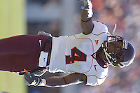 19 November 2005: Eddie Royal (4)..The Virginia Tech Hokies defeated the Virginia Cavaliers 52-14 for the Commonwealth Cup at Scott Stadium in Charlottesville, VA.