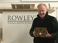 BNPS.co.uk (01202 558833)<br /> Pic: Rowley's/BNPS<br /> <br /> A pocket watch found on the body of a tragic World War One pilot who has shot and killed has emerged for sale.<br /> <br /> Lieutenant Eric Waters, of 6 Squadron, had been flying over Belgium in 1917 when he perished in a dogfight aged 30.<br /> <br /> The doomed mission has become famous because of the subsequent derring-do of his gunner-observer, Sergeant Fred Slingby.<br /> <br /> Sgt Slingby has been sitting in front of him with no parachute, heading for the ground.