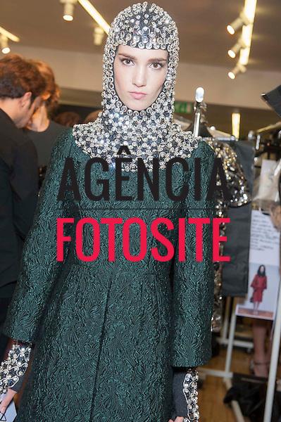 Milao, Italia &ndash; 02/2014 - Desfile de Dolce &amp; Gabbana durante a Semana de moda de Milao - Inverno 2014. <br /> Foto: FOTOSITE