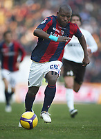 Bologna's Gabi Mudingayi during their italian serie A soccer match at Dall'Ara Stadium in Bologna , Italy , February 21 , 2009 - Photo: Prater/Insidefoto ©