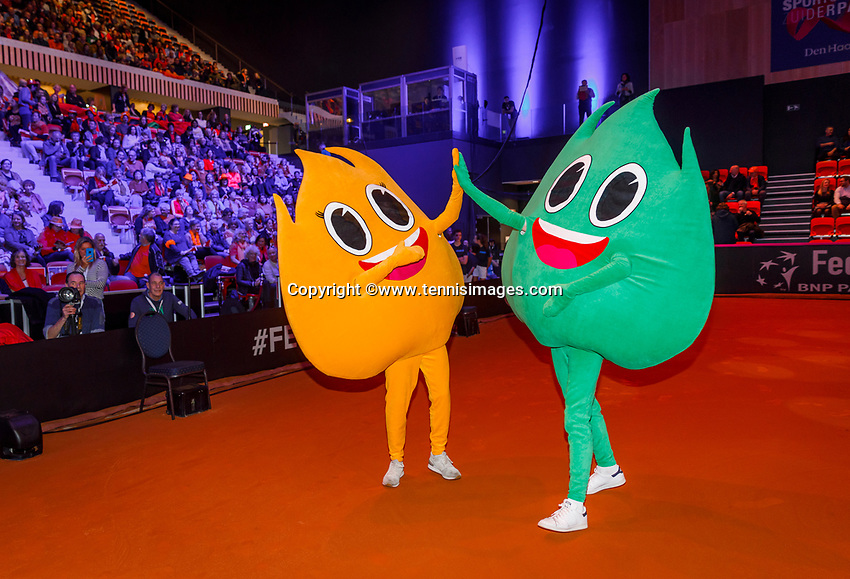 The Hague, The Netherlands, Februari 7, 2020,    Sportcampus, FedCup  Netherlands -  Balarus, Opening with special olympics<br /> Photo: Tennisimages/Henk Koster