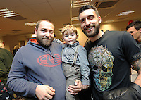 Pictured: Borja Gonzalez Tuesday 06 December 2016<br />Re: Swansea City FC Christmas Party at the Liberty Stadium, Wales, UK
