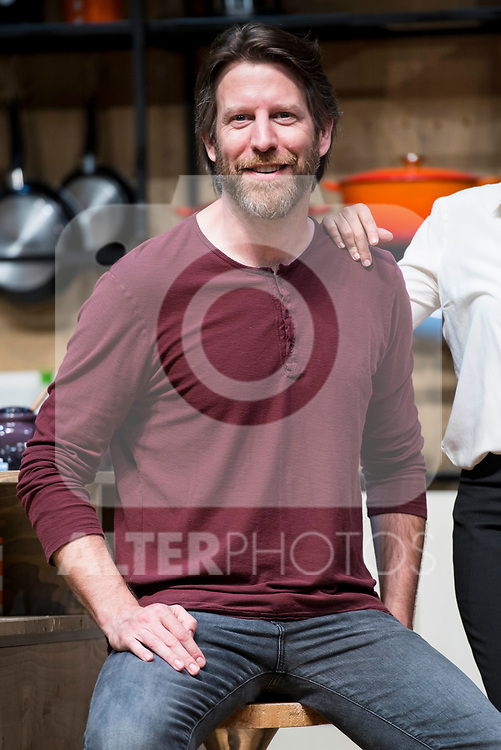 Andrew Tarbet during theater play of &quot;Los vecinos de arriba&quot; at Teatro Circulo de Bellas Artes in Madrid, April 25, 2017. Spain.<br /> (ALTERPHOTOS/BorjaB.Hojas)