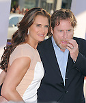Brooke Shields and Chris Henchy at Warner Bros. Pictures Premiere of The Campaign held at The Grauman's Chinese Theatre in Hollywood, California on August 02,2012                                                                               © 2012 Hollywood Press Agency