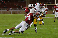4 November 2006: Trevor Hooper during Stanford's 42-0 loss to USC at Stanford Stadium in Stanford, CA.