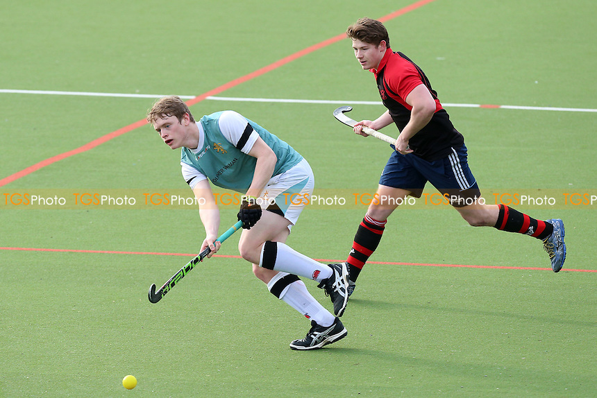 Havering HC vs Cambridge University HC 2nd XI, East Region League Field Hockey at Campion School on 4th February 2017
