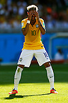 Neymar (BRA),<br /> JUNE 28, 2014 - Football / Soccer :<br /> Neymar of Brazil looks dejected during the FIFA World Cup Brazil 2014 Round of 16 match between Brazil 1(3-2)1 Chile at Estadio Mineirao in Belo Horizonte, Brazil. (Photo by D.Nakashima/AFLO)