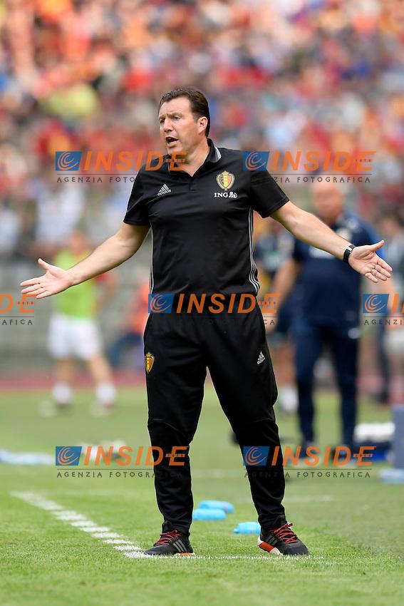 Wilmots Marc head coach of Belgian Team  <br /> Bruxelles 05-06-2016 Calcio Amichevole Belgio Norvegia<br /> Foto Photonews/Panoramic/Insidefoto