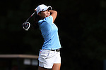 16 October 2016: UNC's Bryana Nguyen. The Final Round of the 2016 Ruth's Chris Tar Heel Invitational NCAA Women's Golf Tournament hosted by the University of North Carolina Tar Heels was held at the UNC Finley Golf Club in Chapel Hill, North Carolina.