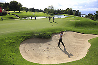 Jaye Marie Green (USA) at the 5th green during Tuesday's Practice Day of The Evian Championship 2017, the final Major of the ladies season, held at Evian Resort Golf Club, Evian-les-Bains, France. 12th September 2017.<br /> Picture: Eoin Clarke | Golffile<br /> <br /> <br /> All photos usage must carry mandatory copyright credit (&copy; Golffile | Eoin Clarke)