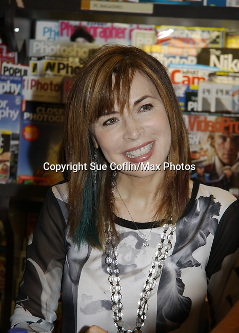 """Days Of Our Lives - Lauren Koslow meet the fans as they sign """"Days Of Our Lives Better Living"""" on September 27, 2013 at Books-A-Million in Nashville, Tennessee. (Photo by Sue Coflin/Max Photos)"""