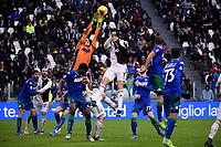 Stefano Turati of Sassuolo, Cristiano Ronaldo of Juventus <br /> Torino 1-12-2019 Juventus Stadium <br /> Football Serie A 2019/2020 <br /> Juventus FC - US Sassuolo 2-2 <br /> Photo Federico Tardito / Insidefoto