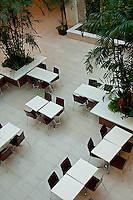 Food court from above