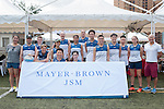 Mayer Brown JSM team during Swire Touch Tournament on 03 September 2016 in King's Park Sports Ground, Hong Kong, China. Photo by Marcio Machado / Power Sport Images
