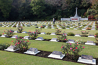 Yokohama War Cemetery, Hodogaya. Yokohama, Japan. Sunday November 9th 2014