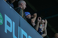 Huddersfield Town applauds the fans at the final whistle <br /> <br /> Luke Brennan/CameraSport<br /> <br /> The EFL Sky Bet Championship - Queens Park Rangers v Huddersfield Town - Saturday 10th August 2019 - Loftus Road - London<br /> <br /> World Copyright © 2019 CameraSport. All rights reserved. 43 Linden Ave. Countesthorpe. Leicester. England. LE8 5PG - Tel: +44 (0) 116 277 4147 - admin@camerasport.com - www.camerasport.com