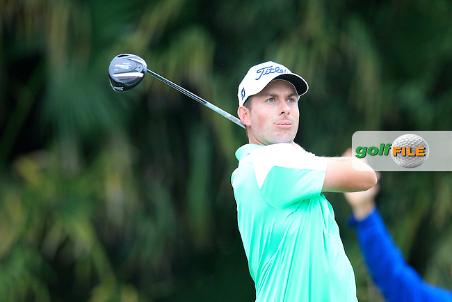 Webb Simpson (USA) during the final round of the WGC Cadillac Championship, Blue Monster, Trump National Doral, Doral, Florida, USA<br /> Picture: Fran Caffrey / Golffile