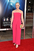WESTWOOD, CA - APRIL 11: Stephanie Czajkowski attends the premiere of 20th Century Fox's 'Breakthrough' at Westwood Regency Theater on April 11, 2019 in Los Angeles, California.<br /> CAP/ROT/TM<br /> &copy;TM/ROT/Capital Pictures