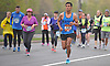 Long Island Half Marathon and 10K runners pound the pavement on Merrick Avenue in Westbury on Sunday, May 1, 2016.