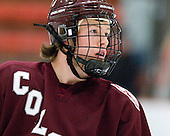 Jack McNamara (Colgate - 18) will turn 21 on Sunday. - The Harvard University Crimson defeated the visiting Colgate University Raiders 6-2 (2 EN) on Friday, January 28, 2011, at Bright Hockey Center in Cambridge, Massachusetts.