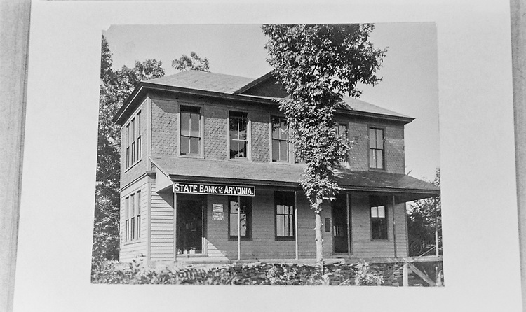 State Bank of Arvonia, Virginia, built in 1908. (Photo by CQ Roll Call via Getty Images)