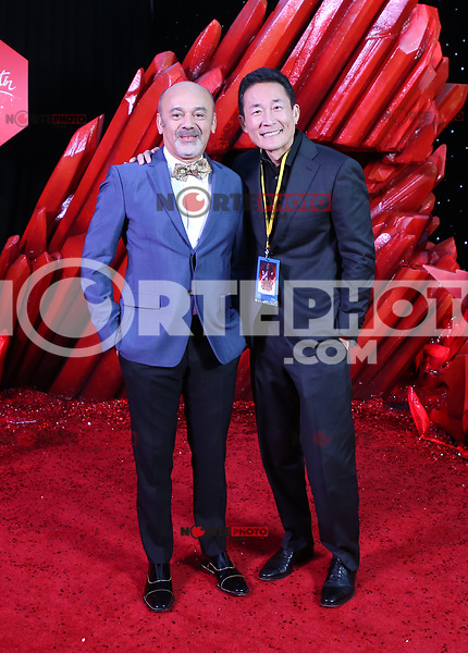 LOS ANGELES, CA - DECEMBER 9: Christian Louboutin, at Premiere Of Disney Pictures And Lucasfilm's 'Star Wars: The Last Jedi' at Shrine Auditorium in Los Angeles, California on December 9, 2017. Credit: Faye Sadou/MediaPunch /NortePhoto.com NORTEPHOTOMEXICO