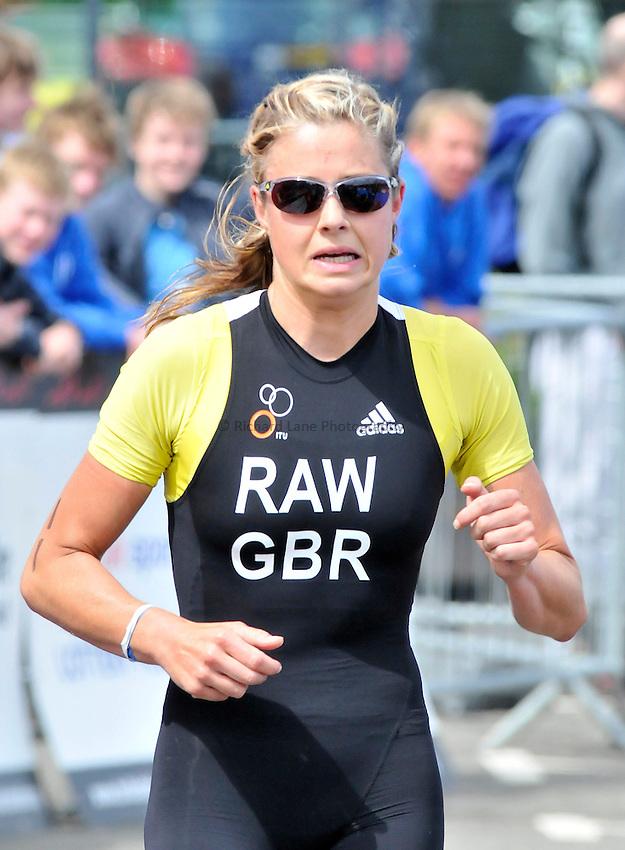 Photo: Paul Greenwood/Richard Lane Photography. Strathclyde Park Elite Triathlon. 17/05/2009. .England's Vanessa Raw