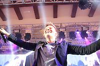 SÃO PAULO, SP - 17.07.2013: 10 EDIÇÃO INVERNO SEM FRIO -  Michel Teló faz show na 10 edição do Inverno Sem Frio que acontece nesta  quarta-feira (17) no Palácio dos Bandeirantes em São Paulo. (Foto: Marcelo Brammer/Brazil Photo Press)