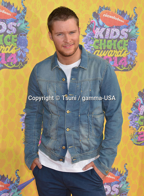 """Jack Reynor 347 at the NickelOdeon""""s 27th Annual Kids Choice Awards 2014 at the Gallen Center in Los Angeles."""
