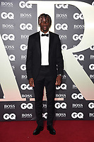 Wilfred Zaha<br /> arriving for the GQ Men of the Year Awards 2019 in association with Hugo Boss at the Tate Modern, London<br /> <br /> ©Ash Knotek  D3518 03/09/2019