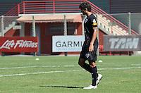 SAO PAULO, 14 DE AGOSTO DE 2012 - TREINO SAO PAULO - Jogador William Jose durante treino do Sao Paulo no CT do clube, na Barra Funda, regiao oeste da capital, na manha desta terca feira. FOTO: ALEXANDRE MOREIRA - BRAZIL PHOTO PRESS