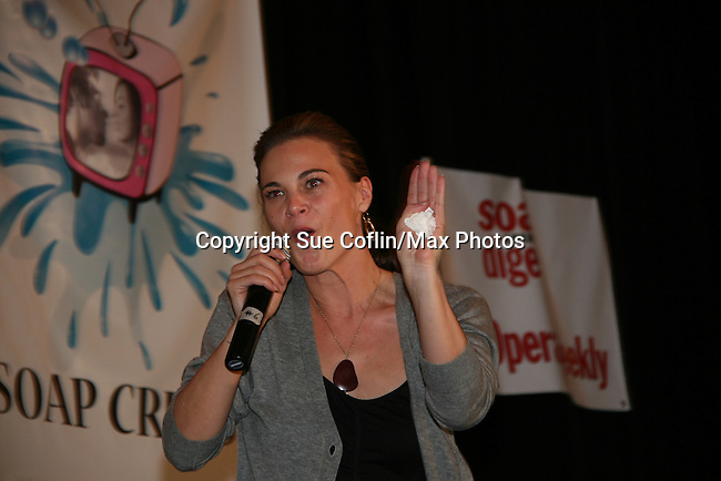 Gina Tognoni - Guiding Light and One Life To Live -  So Long Springfield event brought out Guiding Light Actors as they  came to see fans at the Hyatt Regency in Pittsburgh, PA. for Q & A, acting scenes between actors and fans, and entertainment (singing) by GL finest during the weekend of October 24 and 25, 2009. (Photo by Sue Coflin/Max Photos)