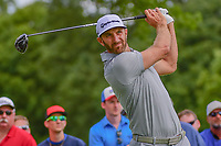 Dustin Johnson (USA) watches his tee shot on 11 during Saturday's round 3 of the World Golf Championships - Bridgestone Invitational, at the Firestone Country Club, Akron, Ohio. 8/5/2017.<br /> Picture: Golffile | Ken Murray<br /> <br /> <br /> All photo usage must carry mandatory copyright credit (&copy; Golffile | Ken Murray)