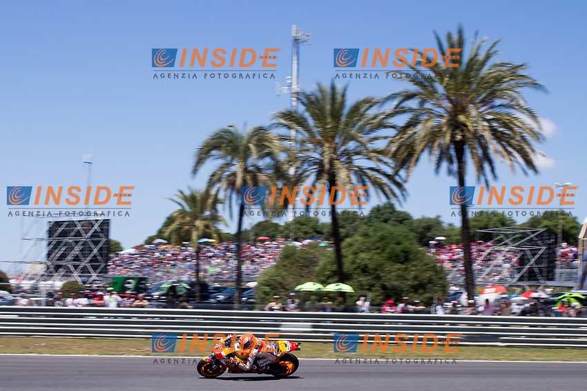 MARC MARQUEZ - SPANISH - REPSOL HONDA TEAM - HONDA<br /> Jerez 05-05-2018 Moto Gp Spagna / Spain<br /> Foto Vincent Guignet / Panoramic / Insidefoto