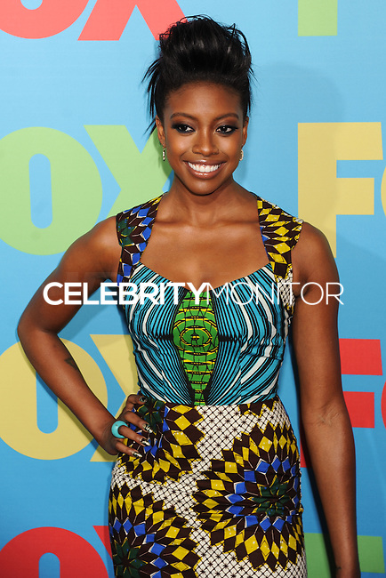 NEW YORK CITY, NY, USA - MAY 12: Condola Rashad at the FOX 2014 Programming Presentation held at the FOX Fanfront on May 12, 2014 in New York City, New York, United States. (Photo by Celebrity Monitor)