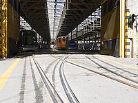 Italy, Italia, Milano, Tram Depot