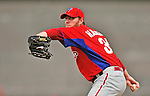 9 March 2012: Philadelphia Phillies pitcher Roy Halladay on the mound during a Spring Training game against the Detroit Tigers at Joker Marchant Stadium in Lakeland, Florida. The Phillies defeated the Tigers 7-5 in Grapefruit League action. Mandatory Credit: Ed Wolfstein Photo