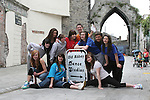 Suzanne Walsh, Jade McGrane, Caitlin Branigan, Emma Gorman, Nicole Madden, Fabia Marsella, Ian Harris, Michaela Flood, Shane Kierans, Aisling Nally and Caoilainn Kavanagh at the Open Day at the Old Abbey Dance Studio...Photo NEWSFILE/Jenny Matthews.(Photo credit should read Jenny Matthews/NEWSFILE)....This Picture has been sent you under the condtions enclosed by:.Newsfile Ltd..The Studio,.Millmount Abbey,.Drogheda,.Co Meath..Ireland..Tel: +353(0)41-9871240.Fax: +353(0)41-9871260.GSM: +353(0)86-2500958.email: pictures@newsfile.ie.www.newsfile.ie.FTP: 193.120.102.198.